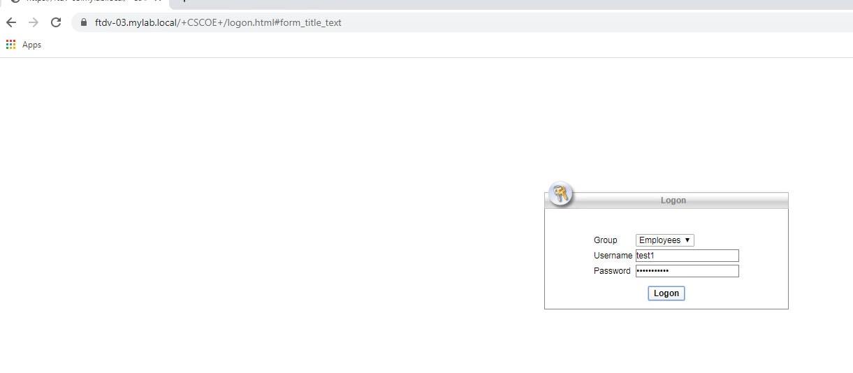 FMC AnyConnect SSL VPN