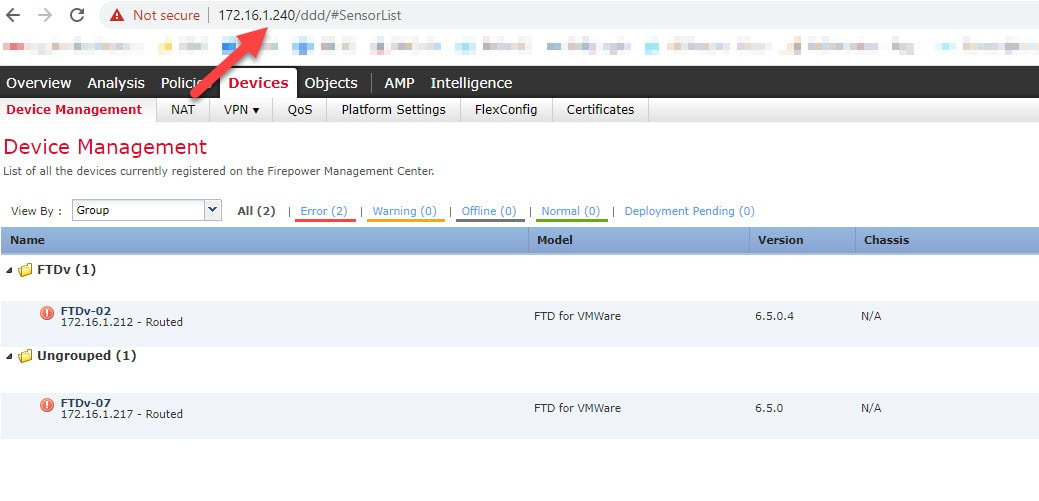 FTD Unregister and Register by another FMC0002