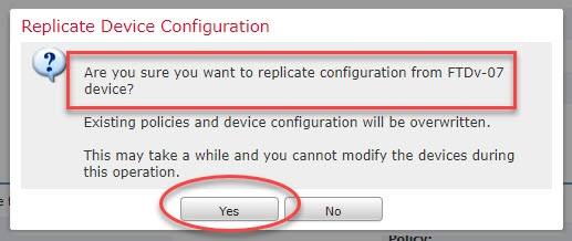 FTD Get Device Configuration