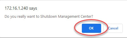 How to Shutdown Cisco FMC0002