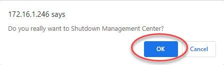 How to Shutdown Cisco FMC0005