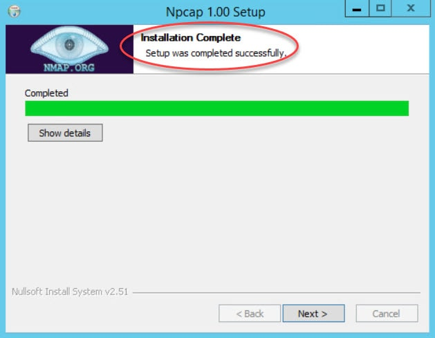 Failed to Create the Npcap Service 0003