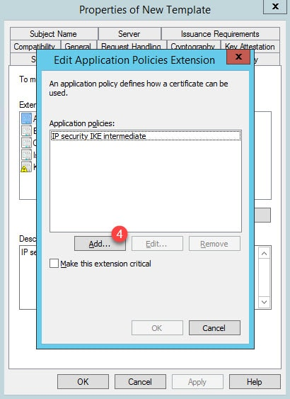 WARNING: The ID certificate associated with trust-point contains an Extended Key Usage (EKU) extension but without the Server Authentication purpose which is required for SSL use.